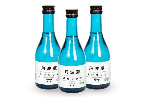 【小鼓】丹波蔵スピリッツ77 300ml×3本